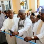 (Photonews) Atiku pays courtesy visit to Hama Bachama; Commissions Madugu Hotel & Resort