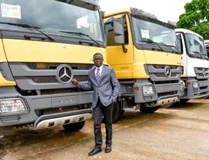 Engr.Benjamin Onuorah Nnabugwu, the Managing Director/CEO of Tetralog Nigeria Limited