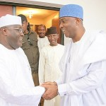 National Assembly leadership: Buhari accepts Saraki, Dogara; APC kicks; Atiku, Tambuwal, PDP, others congratulate them