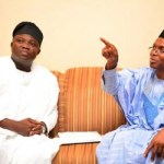 (Photonews) Gov. Ambode pays condolence visit to Gov. El Rufai of Kaduna State on his father's death