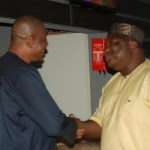 PHOTONEWS – Governor Ifeanyi Ugwuanyi of Enugu State and Inspector General of Police, Solomon Arase