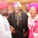 (Photonews) Ambode at wedding of Oyo Governor's daughter