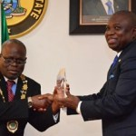 Ambode restates commitment to credible, transparent administration…Receives 51st ICAN President, Deru