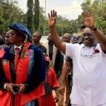(PHOTONEWS) Gov. Okezie Ikpeazu's investiture as Abia State University's Visitor