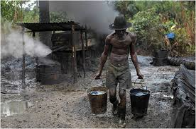 Illegal oil activities in the Niger Delta