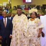 VP Osinbajo, Gov. Ambode grace TREM General Overseer, Okonkwo's 70th Birthday in Gbagada