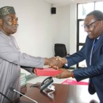 (Photonews)Gov. Ugwuanyi receives Nigerian Shippers Council management in Enugu