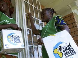 The polio vaccination campaign