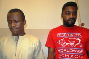 (L-R) Chinedu Utaku and Arinze Ihekwo