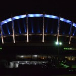 National Theatre Lagos turns blue for UN @ 70 Anniversary