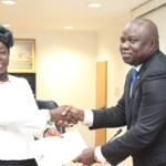 Ambode swears-in new perm sec for Education District 4; pledges to uplift state's civil service
