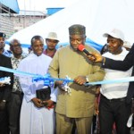 (Photonews) Gov Ugwuanyi commissions Aqua Rapha Investment Nigeria Limited's products in Enugu