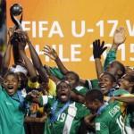 Nigeria's Golden Eaglets  win Under 17 FIFA World Cup again!