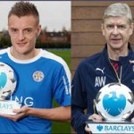 Vardy, Wenger win EPL monthly awards