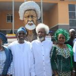 Excitement in Osun as Aregbesola commissions N750 million High School named after Soyinka *Nobel Laureate says project represents rejection of what Boko Haram stands for