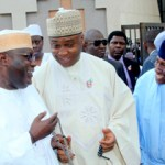(Photonews) Atiku, Saraki, others at Abuja prayer ground to commemorate World AIDS Day; Dogara visits former VP
