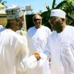 (Photonews) Atiku pays condolence visit to Amb. Kwande; receives PLSHA members