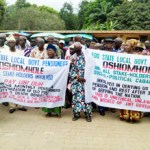 (Photonews) Pensioners protest in Edo