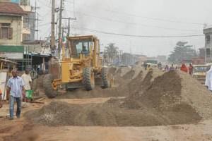 Ongoing rehabilitation of the Alfa Nla/Capitol Road, Agege