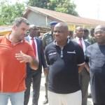 (Photonews) Wike inspects Rumuaghorlu Road in Port Harcourt