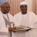 Tambuwal meets Shagari; as Sokoto gov't pledges to build teachers' villages