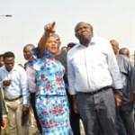 (Photonews) Gov Ambode commissions Ipaja-Ayobo, Ikotun-Ejigbo roads; inspects Brown Street