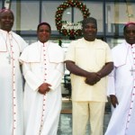 (Photonews) Gov. Ugwuanyi meets Bishops in Enugu