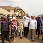 Huge crowds greet Obi, others during PDP's road show in Anambra