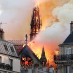 Notre-Dame fire: Trump offers condolences, assistance to Macron; Buhari condoles with France, Christendom