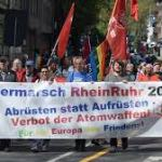 Thousands take part in peace marches across Germany