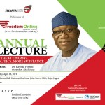 Fayemi, Kalu, Daniel, others for Freedom Online lecture