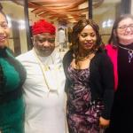Dignitaries at Dr. Obiloh's Faces of Hope Gala 2019