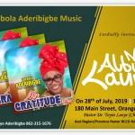 Gospel artist, Adebola Aderibigbe, unveils album in America