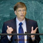 Bill Gates urges world leaders to address gaping global inequality