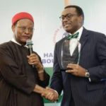 Adesina honoured with Emeka Anyaoku Lifetime Achievement Award