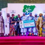 Buhari receives Pouyanne, Chairman/CEO, Total Group Worldwide; Attends 2019 E-Nigeria Conference