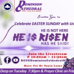RCCG Dominion Cathedral, New Jersey, USA, holds Easter Service (2020) online