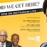 Funmi Iyanda goes live with NCDC boss, Hafsat Abiola on Public Eye