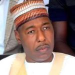 In Gwoza, Zulum shares N150m grants to traders, food to 27,000 vulnerable persons  …Opens health centre in Kawuri
