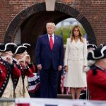 U.S. President Trump lays wreath to mark Memorial Day