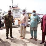 Gulf of Guinea no longer safe haven for pirates – Jamoh; As Nigeria hands over suspected vessel, crew to Ghana; Korean Envoy hails handling of case