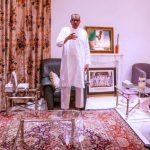 #ENDSARS: President Buhari meets with VP Osinbajo, IGP Adamu; Issues marching orders