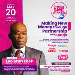 Ekeh, Zinox boss to share new money creation tips at Konga SME CONNECT Conference