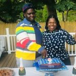 Daniel Laoye celebrates at 21