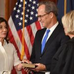 New York's 1st female governor sworn in after Cuomo resignation
