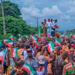 Hero's welcome for Valentine Ozigbo after Appeal Court victory, INEC clearance