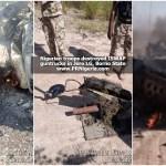 Nigerian troops battle ISWAP fighters, kill 18, recover gun trucks