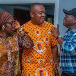 Gov. Ikpeazu hosts Valentine Ozigbo as PDP's National Campaign Council strategises ahead of Anambra guber poll