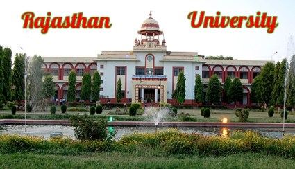 Rajasthan University B.Ed 1st & 2nd Year Time Table