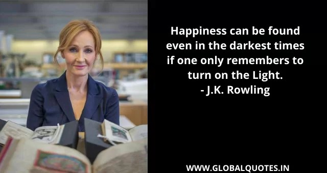 J.K. Rowling Quotes